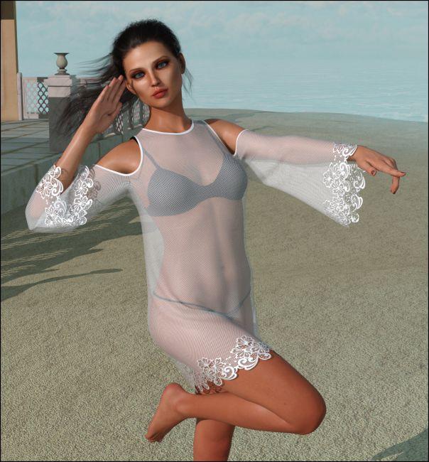 dForce - Beach Dress for G8F