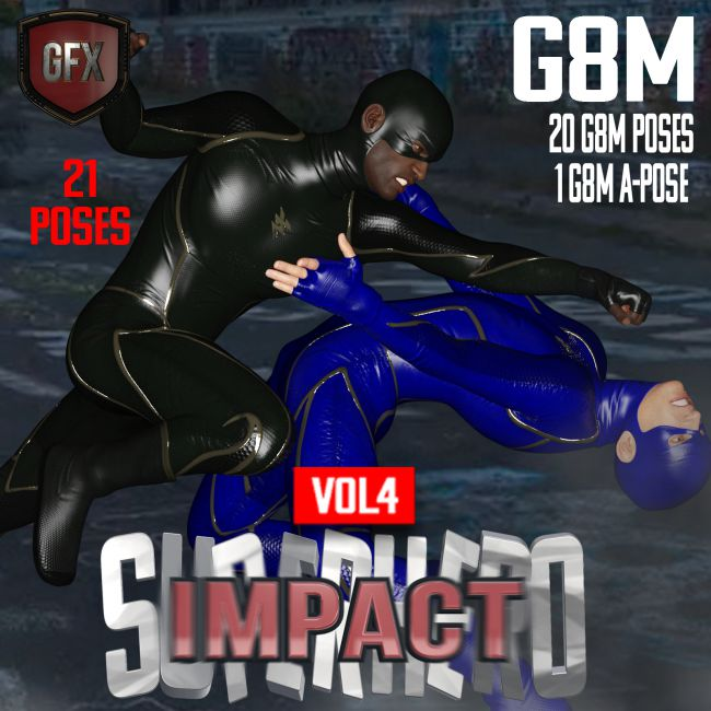 SuperHero Impact for G8M Volume 4