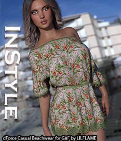InStyle- dForce Casual Beachwear for Genesis 8 Females