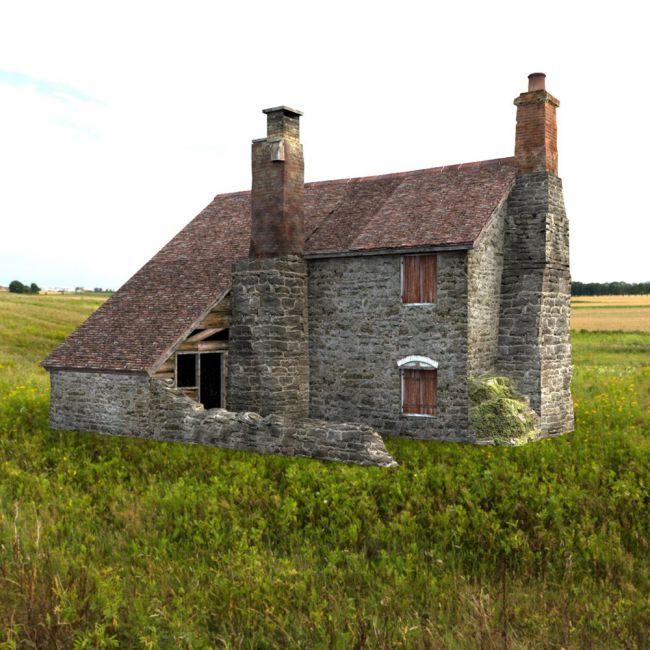 Derelict Cottage  for DAZ Studio