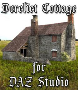 Derelict Cottage  for DAZ Studio