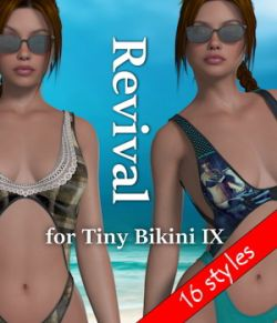 Revival for Tiny Bikini IX V4_Poser