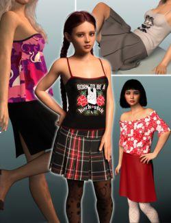 dForce Wardrobe & Shaders 2 for Genesis 8 Female(s)