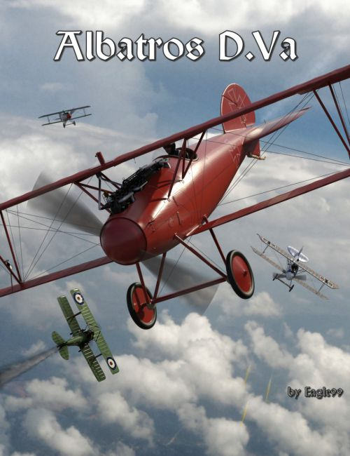 Albatros D.Va WWI Biplane