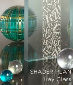 Shader Plan - Iray Glass