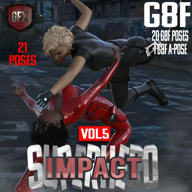 SuperHero Impact for G8F Volume 5