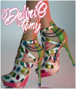 Delirio Amy heels G8F