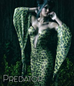 Predator for dForce Heiress Dress G3F