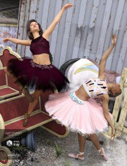 dForce Urban Ballerina Textures