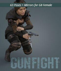 GUNFIGHT for Genesis 8 Female
