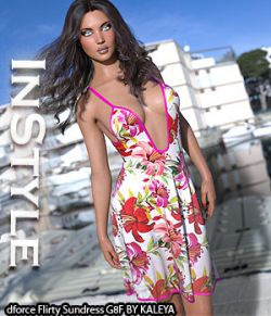 InStyle- dforce Flirty Sundress G8F