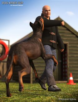 Dog Attack Suit for Genesis 8 Male(s)