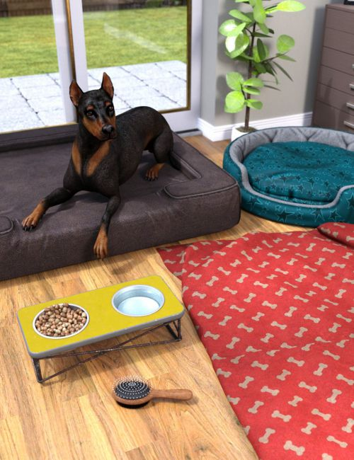 Home Sweet Home Props for DAZ Dog(s) 8