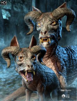 Hellhound HD for Daz Dog 8