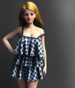Dynamic Ruffle Dress