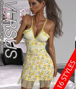 VERSUS- dforce Fetching Dress G3F G8F