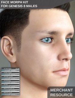 Face Morph Kit for Genesis 8 Male