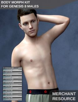 Body Morph Kit for Genesis 8 Male