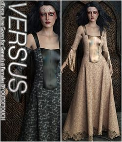 VERSUS- dForce June Gown for Genesis 8 Females