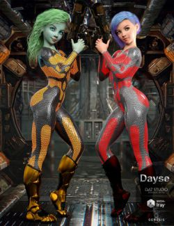 Dayse and Bodysuit for Genesis 8 Female