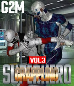 SuperHero Grappling for G2M Volume 3