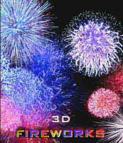 Real 3D Fireworks