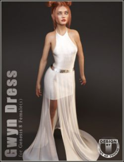 dForce Gwyn Dress for Genesis 8 Female(s)