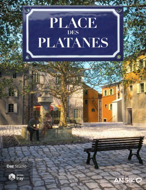 Place des Platanes