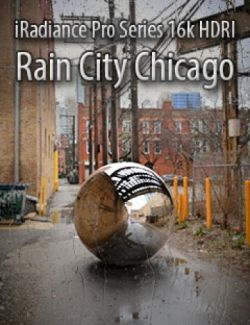 iRadiance Pro Series 16k HDRIs- Rain City Chicago
