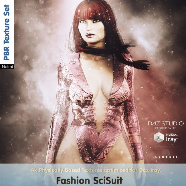 SyFy for Fashion SciSuit  for G3F Texture set