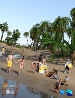 Now-Crowd Billboards- Beach Life