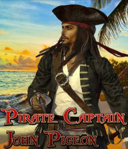 Pirate Captain John Pigeon