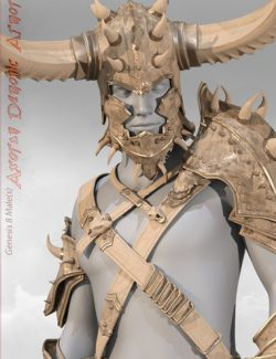 Axoran Demonic Armor Regalia for Genesis 8 Male(s)