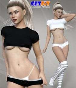 Get Fit Outfit Set for Genesis 8 Female(s)