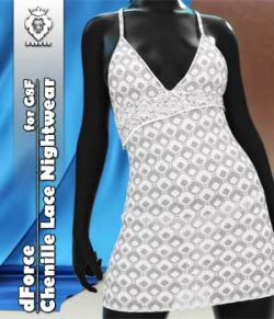 JMR dForce Chenille Lace Nightwear for G8F