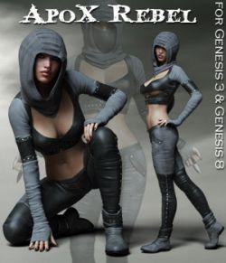 ApoX- Rebel for the Genesis 3 and Genesis 8 Females