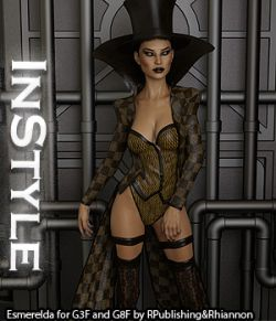 InStyle - Esmerelda for Genesis 3 and Genesis 8 Females