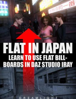 Flat In Japan- Learn To Use Flat Billboards In Daz Studio Iray