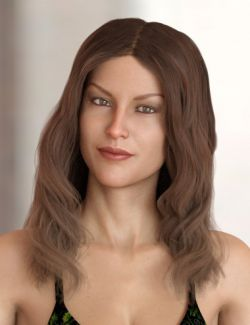 Caitlyn Hair for Genesis 3 and 8 Female(s)