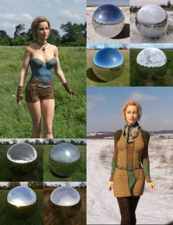 Orestes Iray HDRI Environment- Four Seasons Field