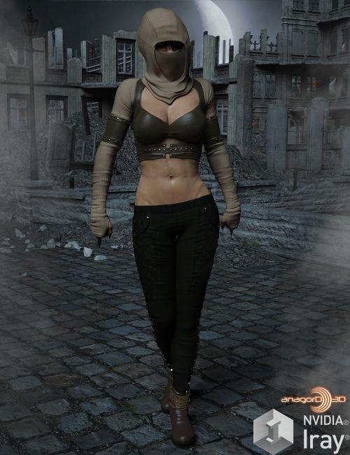 BLACKHAT - ApoX - Rebel for the Genesis 3 and Genesis 8 Females