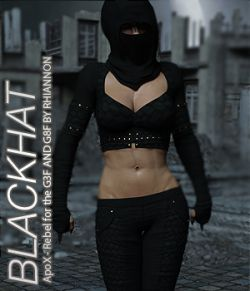 BLACKHAT - ApoX - Rebel for the Genesis 3 and Genesis 8 Females