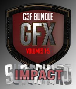 SuperHero Impact Bundle for G3F