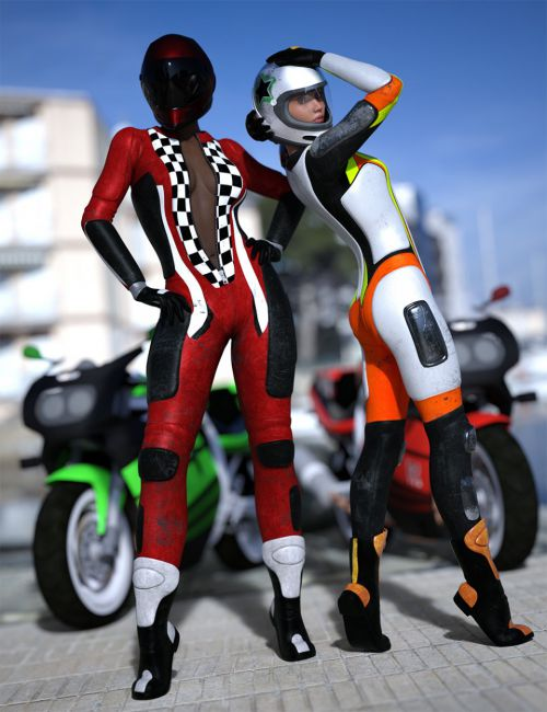 Motorbike Suit Outfit Textures