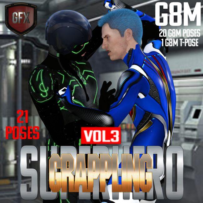 SuperHero Grappling for G8M Volume 3