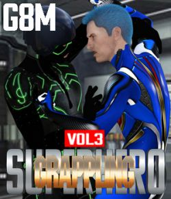 SuperHero Grappling for G8M Volume 3