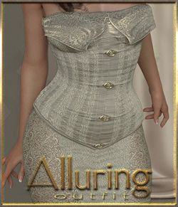 Alluring Outfit for Genesis 8 Female