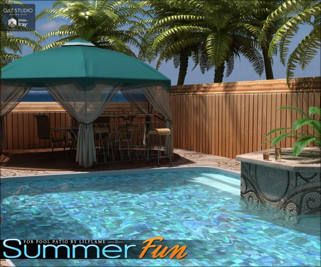 Summer Fun for Pool Patio DS