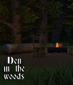 Den in the woods