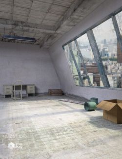 Industrial Room Interior and Props